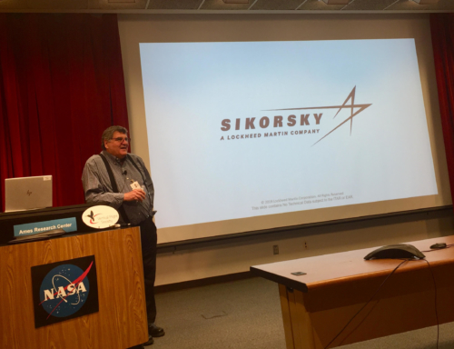 """2019 Nikolsky Awardee Nick Lappos presents """"Design Advantages of an Integrated Cyber-Physical Aircraft"""""""